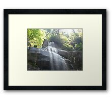 """Water Fall"" by Carter L. Shepard Framed Print"