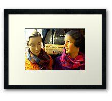 Donegal Ladies Framed Print