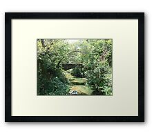 """Bridge"" by Carter L. Shepard Framed Print"