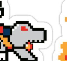 Super Matrixo World Sticker