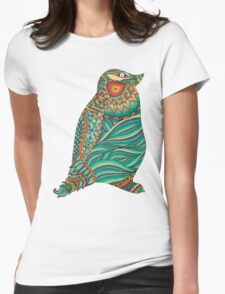 Ethnic Penguin Womens Fitted T-Shirt