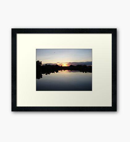 """Idaho Sunset"" by Carter L. Shepard Framed Print"