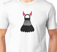 Badminton devil Unisex T-Shirt