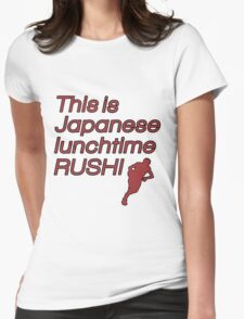 Japanese Lunchtime! Womens Fitted T-Shirt