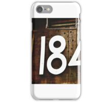 The Silversmith 184 3/4 iPhone Case/Skin