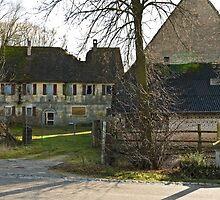 Derelict Water Mill, Höchstadt, Germany. by David A. L. Davies
