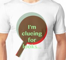 Sherlock - I'm clueing for looks funny  Unisex T-Shirt