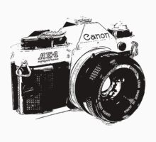 Vintage Canon Camera by PatiDesigns