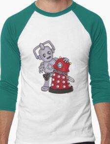 Destructive Hugs Men's Baseball ¾ T-Shirt