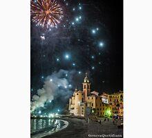 Genova - Camogli - Fireworks v Unisex T-Shirt