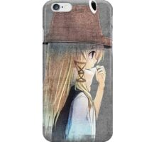 Moriya Suwako wall art iPhone Case/Skin