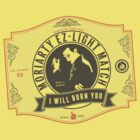 Moriarty Matchbox Label by destinysagent