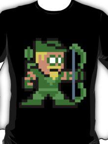 8-bit Green Arrow T-Shirt