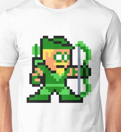 8-bit Green Arrow Unisex T-Shirt