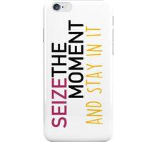 Seize the moment; Hamilton iPhone Case/Skin