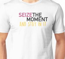 Seize the moment; Hamilton Unisex T-Shirt