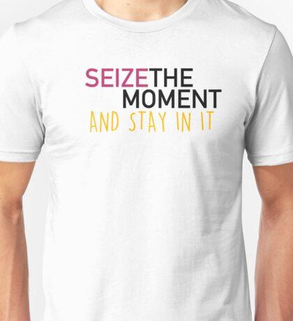 Seize the moment; Hamilton Unisex T-Shirt