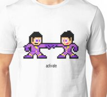 8-bit Wonder Twins Unisex T-Shirt