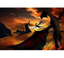 Dragon Planes Photographic Print