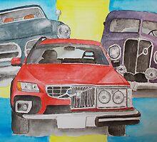Volvo Nostalgia by Eva  Ason