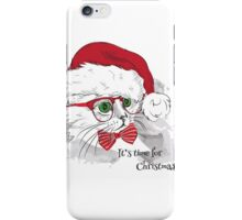 Christmas Cat iPhone Case/Skin