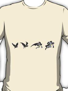 Evolution of the Bat T-Shirt