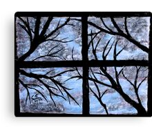 """""""A Winter View"""" by Carter L. Shepard Canvas Print"""