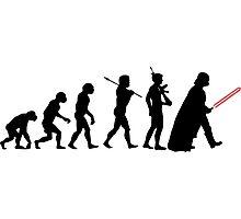 Darth Vader Evolution Photographic Print
