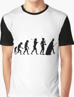 Darth Vader Evolution Graphic T-Shirt