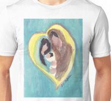 Center of my Heart Mint Unisex T-Shirt