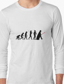 Darth Vader Evolution Long Sleeve T-Shirt