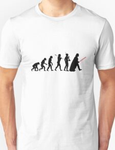 Darth Vader Evolution Unisex T-Shirt
