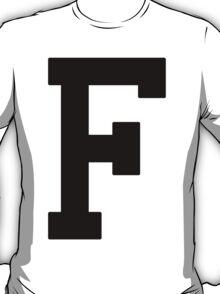 Letterman F T-Shirt