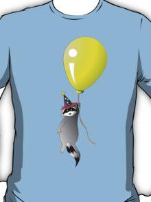 Clown Raccoon with Balloon T-Shirt