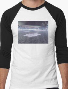 Snowy Peaks Men's Baseball ¾ T-Shirt