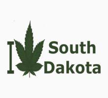 0239 I Love South Dakota by Ganjastan
