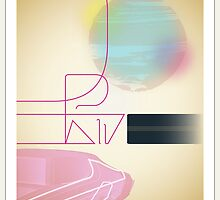Drive movie poster by Marcus Marritt by MarcusMarritt