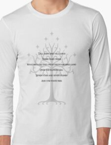 A rhyme of lore Long Sleeve T-Shirt