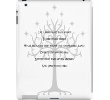 A rhyme of lore iPad Case/Skin
