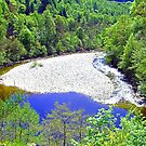 The River Garry at Killiecrankie by Tom Gomez