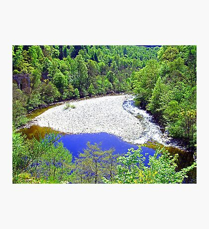 The River Garry at Killiecrankie Photographic Print