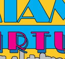 Miami Virtue 2.0 Sticker