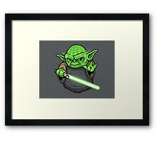 Pocket Jedi Framed Print