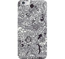 Doodles are a Waste of time iPhone Case/Skin