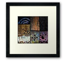 Blocks 2 Framed Print
