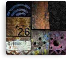Blocks 2 Canvas Print