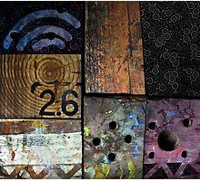 Blocks 2 Photographic Print