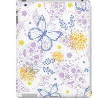 Butterfly garden pattern iPad Case/Skin