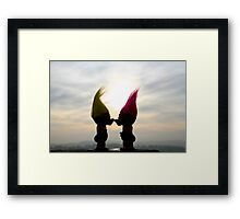 trolls in love Framed Print
