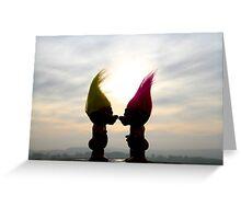 trolls in love Greeting Card